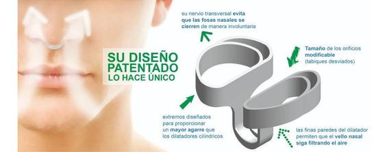 Dilatador Nasal Respirfix,incluye 2 Tamaños,mediano Y Grande