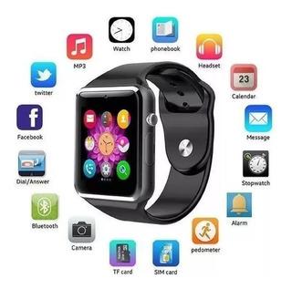 Relógio Celular Smartwatch A1 Bluetooth Câmera E Whatsapp