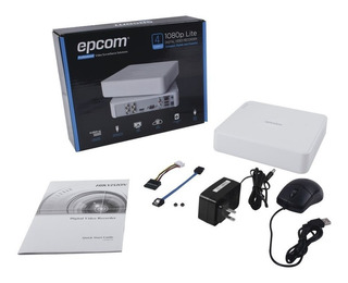 Dvr Epcom 4 Canales 1080p Pentahibrido S04-turbo-l P2p