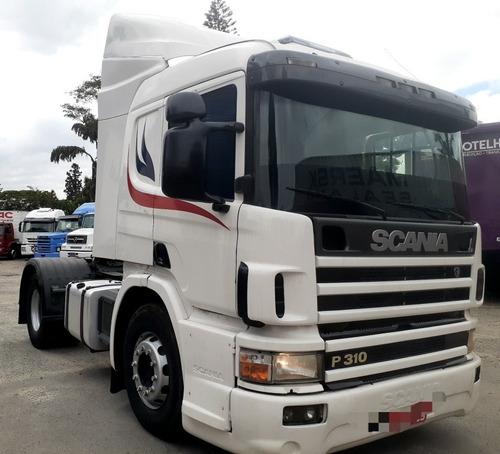 Scania  P310 4x2 Cabine Leito Caminhão Filé Motor Feito