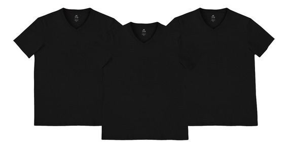 Kit 3 Camisetas Masculinas Básicas World Hering