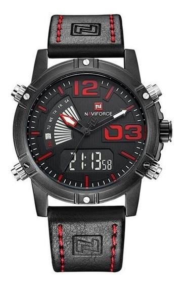 Relógio 100% Original Naviforce 9095 Masculino Sports Oferta