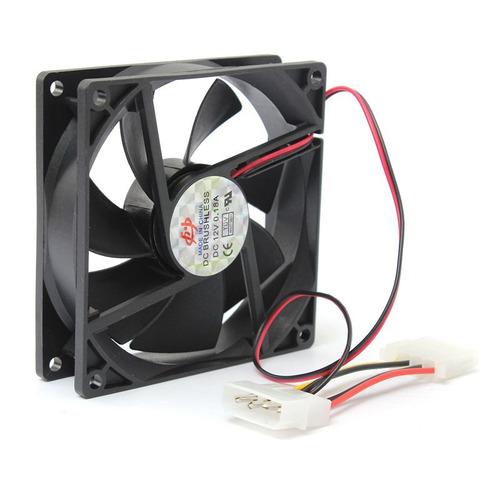 Fan Cooler Extractor Ventilador 9cm 90mm Pc Case Tienda
