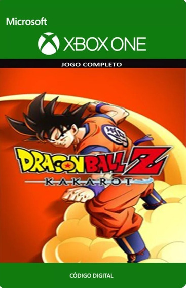Dragon Ball Z Kakarot Xbox One Código De 25 Dígitos