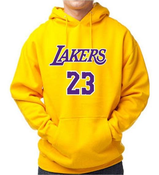 Sueter Nba Los Angeles Lakers Lebron James Estampado