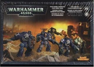 Space Marines Terminator Close Combat Squad 40k De Games Wor