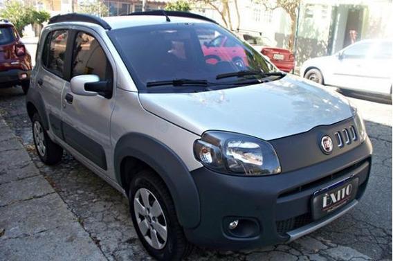 Fiat Uno Way 1.4 Evo Fire Flex 8v Prata 2013