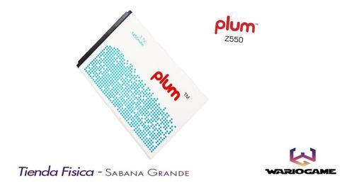Bateria Plum Z550 2200mah Original. Tienda