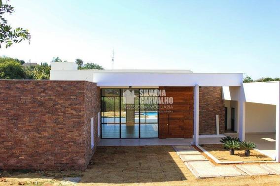 Casa Com 4 Dormitórios À Venda, 550 M² Por R$ 4.500.000,00 - Fazenda Vila Real De Itu - Itu/sp - Ca7149