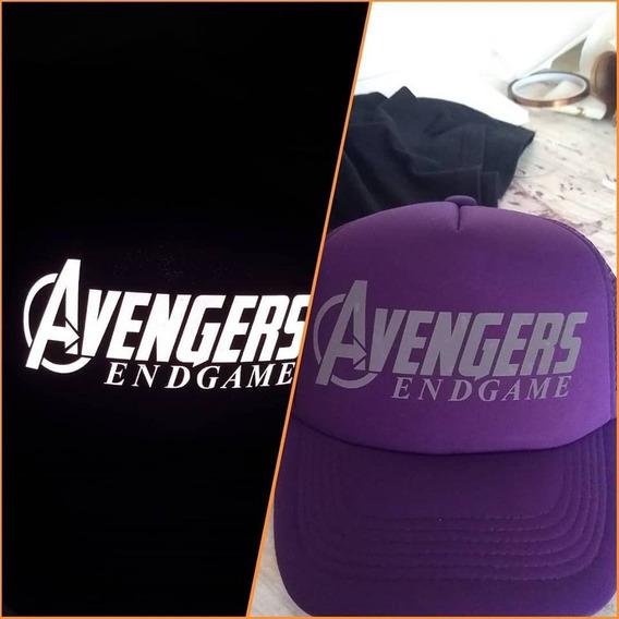 Gorra Avengers Endgame - Reflejante - Envio Gratis