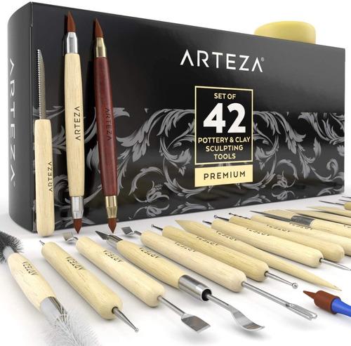 Arteza Set De 42 Herramientas Para Ceramica / Arcilla