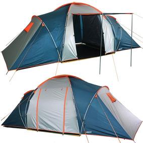 Barraca Camping Nautika Explorer 6 Pessoas 2 Quartos E Sala