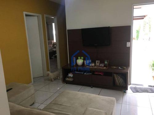 Casa Com 3 Dormitórios À Venda, 120 M² Por R$ 300.000,00 - Parque Da Liberdade I - São José Do Rio Preto/sp - Ca1106