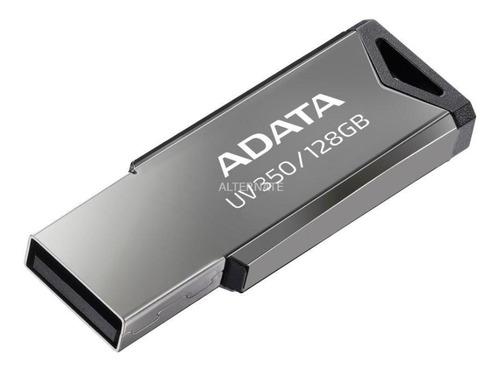Pen Drive Adata Au350 128gb 3.2 Prata - Auv350128grbk