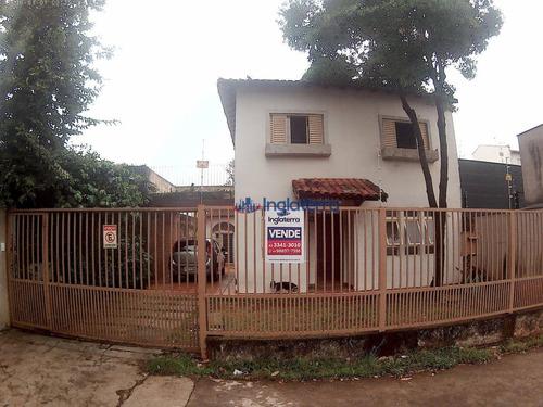 Casa À Venda, 146 M² Por R$ 499.000,00 - Vitória - Londrina/pr - Ca1080