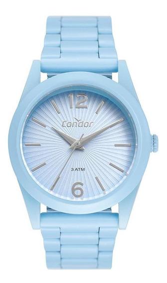 Relógio Feminino Condor Color Fun Azul Co2035mus/8a