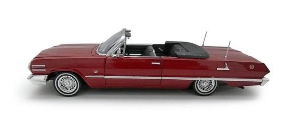 Chevrolet Impala 1963 Cabriolet En Escala 1/24