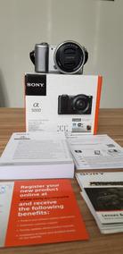 Câmera Sony Alpha A5000 20.1mp+cartão Sd32g+ Lente De 16-50