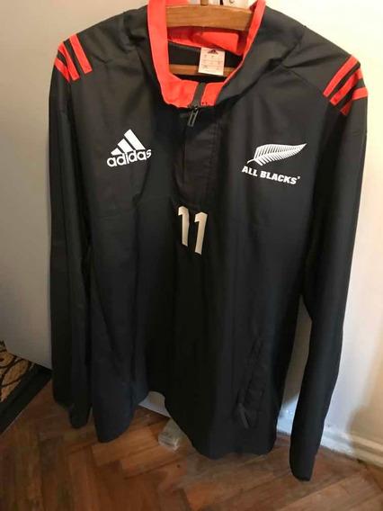Buzo De Lluvia All Blacks adidas Xl Impecable Estado