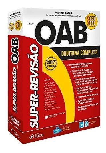 Super-revisão Oab - Doutrina Completa