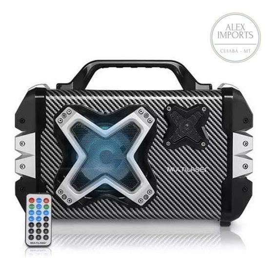 Caixa De Som Portátil Com Relógio Alarme, Bluetooth, Rádio E