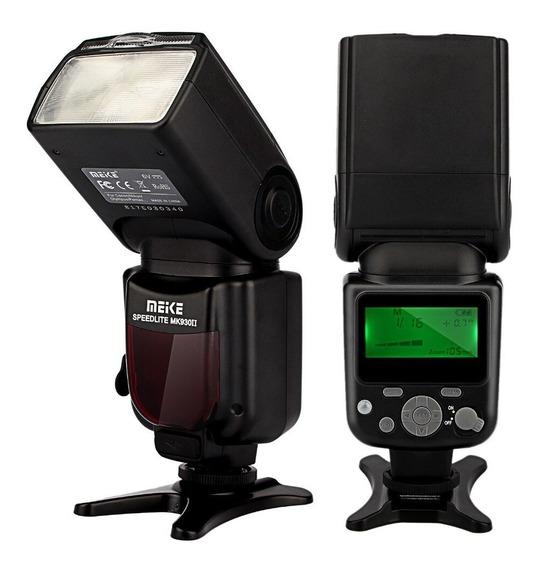 Flash Para Canon Speedlight Meike930ii T6 T5i 60d 70d Sl2