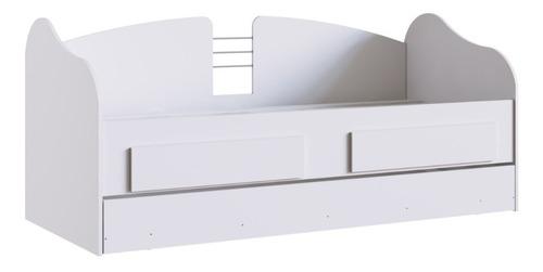 Cama Marinera 2 Cajones Juvenil Dormitorio Cm08 Blanco