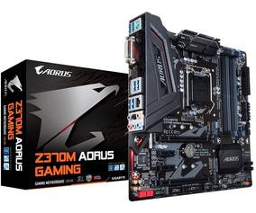 Kit 8ª Geração- I7 8700k Mb Z370m Aorus Gaming+ 8gb 2400 Mhz