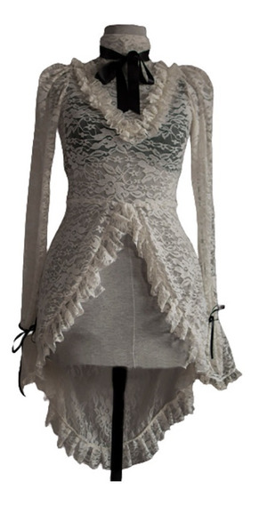 Vestido - Blusa . Encaje Gótica Lorraine - Morganna