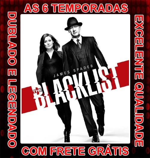 The Blacklist Serie (lista Negra) 1ª À 6ª Temporada + Frete