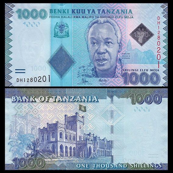 Tanzania P-41b Fe 1.000 Shilingi Nd ( 2015 ) * C O L *