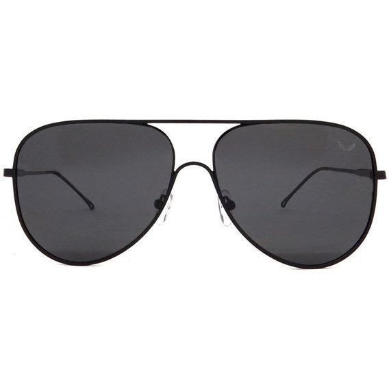 Óculos Cielo Aviador Siracusa Alumínio Polarizado Preto