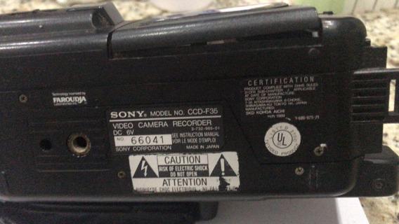 Filmadora Sony Handycam Ccd F-35 ***não Liga***frete Grátis