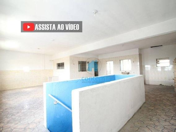Sl0023- Salão Para Alugar, 120 M² Por R$ 1.600/mês - Centro - Osasco/sp - Sl0023