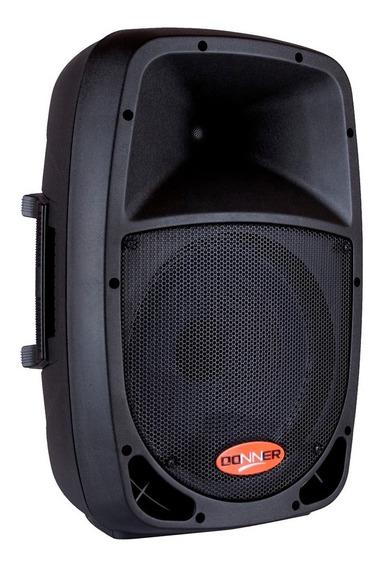 Caixa De Som Ll Donner Dr1010a Ativa Com Bluetooth/sd - 120w