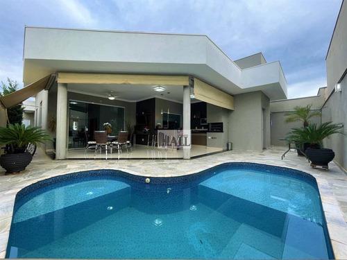 Casa À Venda Condomínio Recanto Do Lago 3 Quartos E 4 Vagas - V5488