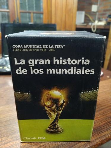 Colección Dvd *la Gran Historia De Los Mundiales