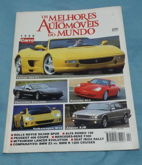 Anuário Os Melhores Automóveis Do Mundo 1998 Carro Catálogo