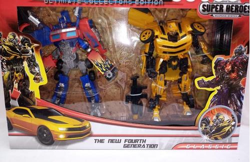 Juguete Transformers Bumblebee Amarillo