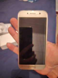 Smartphone Samsung A5 2017 Dourado Seminovo Perfeito