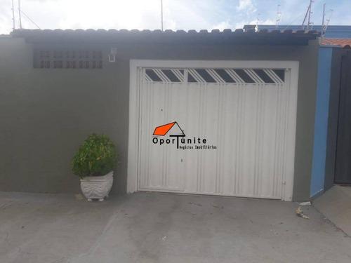 Casa Com 2 Dormitórios À Venda, 125 M² Por R$ 215.000,00 - Jardim Anhangüera - Ribeirão Preto/sp - Ca1323