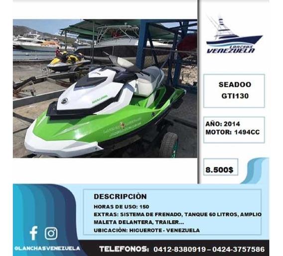 Moto De Agua Seadoo Gti130 Lv225