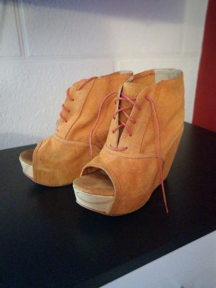 Zapatos Plataforma Clona