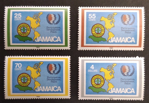 Jamaica, Scout, Yv 624/7 Mint