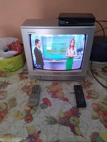 Tv De Tubo 14 Polegadasl Usada.