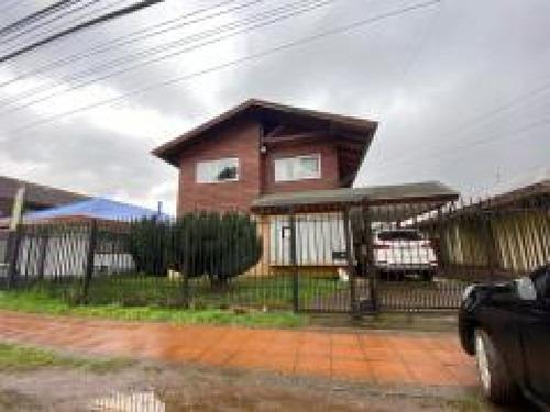 Gran Casa Ampliada En Sector De Alta Plusvalía En Temuco