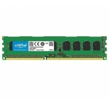 Memoria Ram Pc 4gb Ddr3-1600 Udimm Crucial
