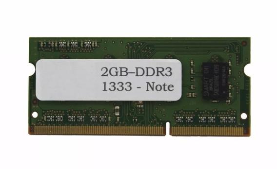 Memória Notebook Netbook Ddr3 2gb 2 Gigas 1333mhz 1333