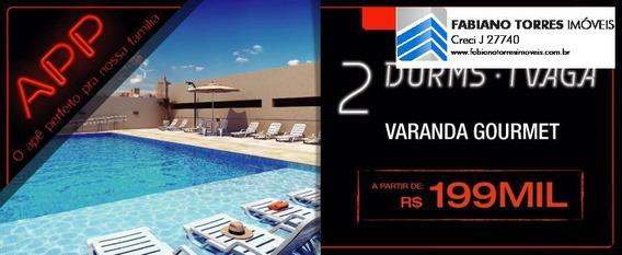Apartamento A Venda Em São Paulo, Vila Prudente, 2 Dormitórios, 1 Banheiro, 1 Vaga - App