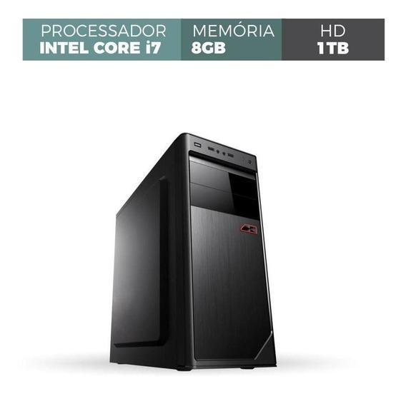 Computador Corporate I7 8gb 1tb